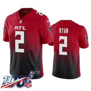 Falcons Matt Ryan Red Jersey
